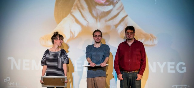 The winners of Daazo's 4th Friss Hús International Short Film Festival!